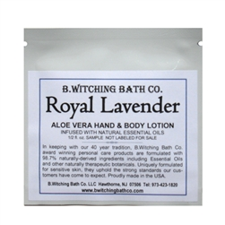 Royal Lavender - Lotion Sample Pack