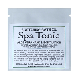 Spa Tonic - Lotion Sample Pack