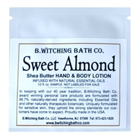 Sweet Almond - Lotion Sample Pack