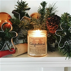 Gingerbread Handcrafted Soy Wax Candle