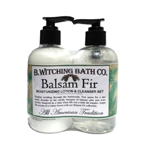 Balsam Fir Lotion & Cleanser Pre-packaged Set