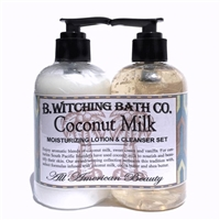 Coconut Milk Lotion & Cleanser Pre-packaged Set