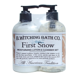 First Snow Lotion & Cleanser Pre-packaged Set
