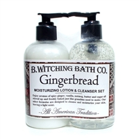 Gingerbread Lotion & Cleanser Pre-packaged Set
