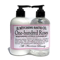 One-hundred Roses Lotion & Cleanser Pre-packaged Set