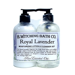 Royal Lavender Lotion & Cleanser Pre-packaged Set
