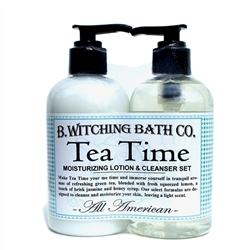 Tea Time Lotion & Cleanser Pre-packaged Set