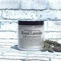 Royal Lavender Exfoliating Sugar Scrub