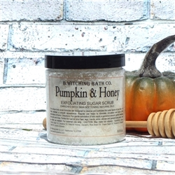 Pumpkin & Honey Exfoliating Sugar Scrub