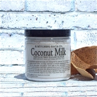 Coconut Milk Exfoliating Sugar Scrub