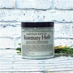 Rosemary Exfoliating Sugar Scrub