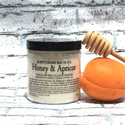 Honey & Apricot Exfoliating Sugar Scrub