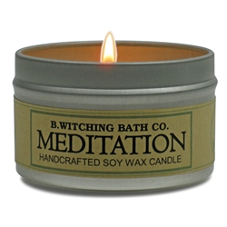 Meditation Tin Candle