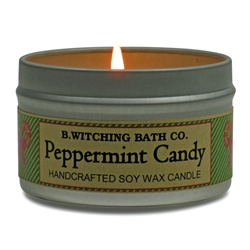 Peppermint Candy Tin Candle