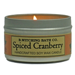 Spiced Cranberry Tin Candle