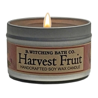 Harvest Fruit Tin Candle