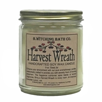 Harvest Wreath Soy Wax Candle