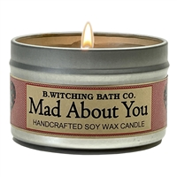 Mad About You Tin Candle