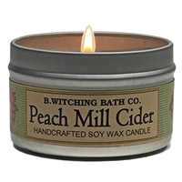 Peach Mill Cider Tin Candle